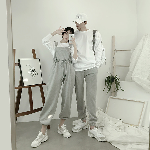 멜빵 Jogger Similar - SET (2color) #678